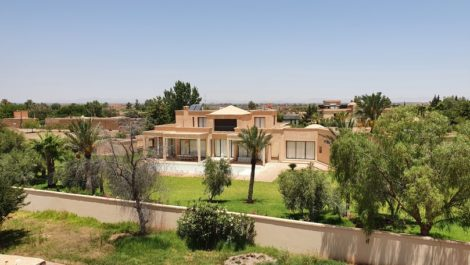 Californian style villa, twelve kilometers from Marrakech