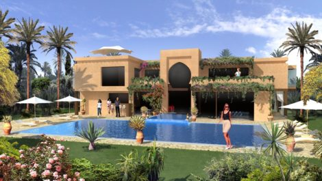 Large villa located in a luxury area – New product