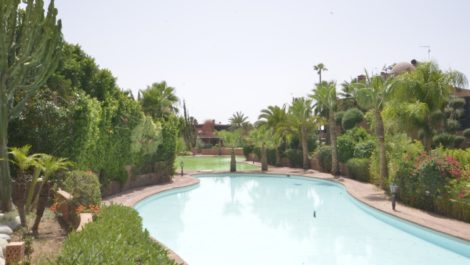 Beautiful four bedroom villa eight kilometers from the center of Marrakech