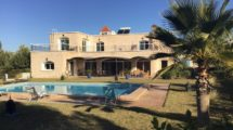 Very beautiful titled villa located in the hinterland of Essaouira