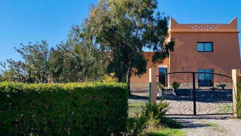 Marrakech – Superbe projet de villas, chacune sur 5000 m² de terrain !