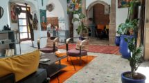 Essaouira: Riad guest house and art gallery in the heart of the medina