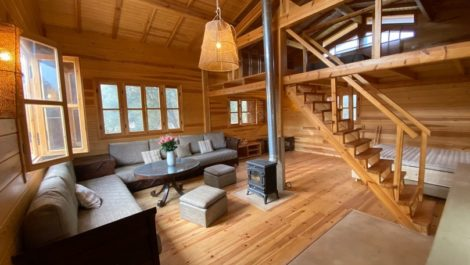 Chalet at the foot of the High Atlas on a plot of 2100 m²