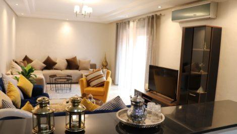 Hypercentre Gueliz : Appartement impeccable dans une résidence de standing