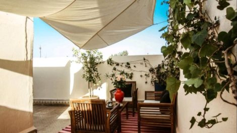 Marrakech, Sidi Mimoun : Riad atypique à saisir, face au Palais Royal