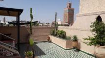 Pied à terre très bien placé à la Kasbah, vue exceptionnelle