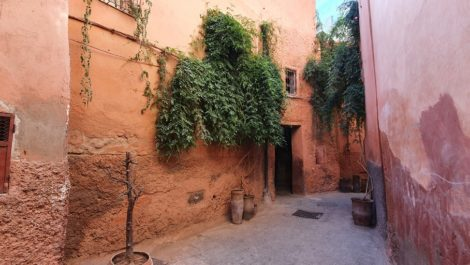 Riad titled to renovate, well placed, authentic