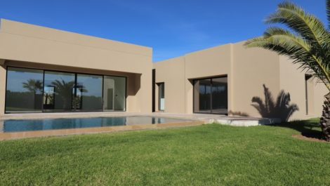 Marrakech : New project of villas at 600 m. of the American School