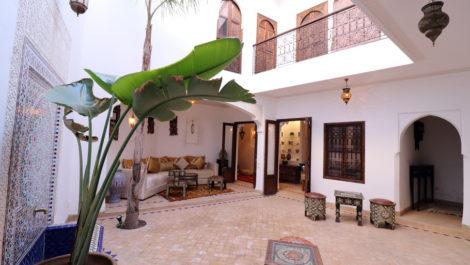 Magnifique Riad restauré avec goût dans un quartier prisé