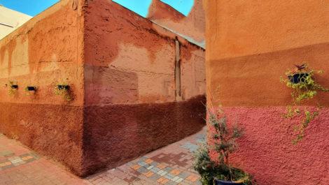 Projet de Riad – Maison d'hôtes bien placé, à finaliser à la Kasbah