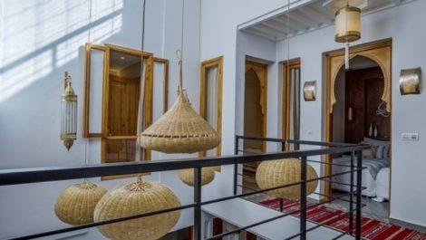 Marrakech : Riad à la Kasbah – Quatre chambres, Hammam, clés en main