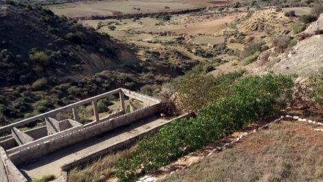 Maison située sur les falaises du village de Sidi Kaouki