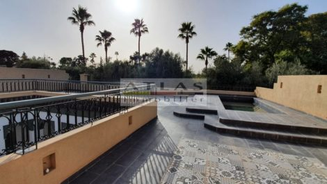 Exceptional property overlooking the Mamounia gardens