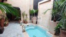 RIAD A FEW HUNDREDS OF METERS FROM THE BAHIA PALACE – EXCEPTIONAL TERRACE VIEW