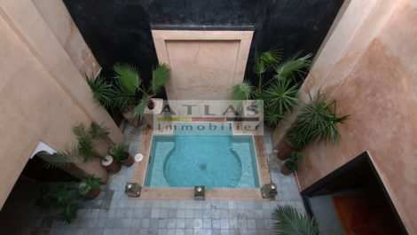 Riad à quelques centaines de mètres du Palais de la Bahia – Vue exceptionnelle en terrasse