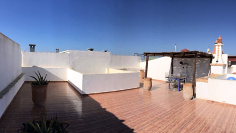 Essaouira: Apartment with private terrace of 80 m²!