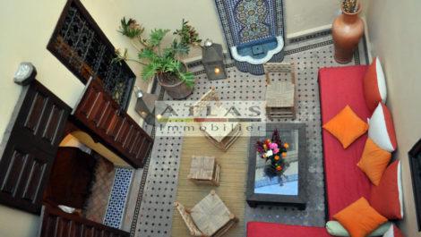 Marrakech : Riad classé, quatre chambres, à la location