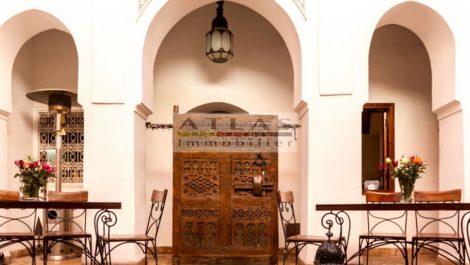 Authentique Riad XIX ème dont la simplicité sublime l'authenticité
