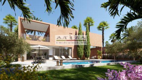 Route de l'Ourika, kilometer 13 : Magnificent villas for sale in new development