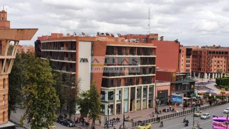 Marrakech – Location : Appartement en plein centre dans un immeuble neuf