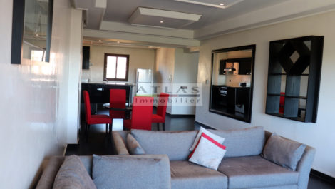 Furnished apartments for rent in a very well placed residence