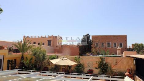 Marrakech : Riad d'architecte jouxtant un célèbre Palais