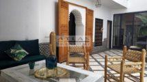 Marrakech : Riad entièrement rénové avec une magnifique vue Médina et Atlas