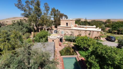 """Magnificent """"Ethno-Chic"""" property in the hinterland of Marrakech"""