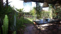 Villa située dans un domaine à moins de cinq minutes de Marrakech