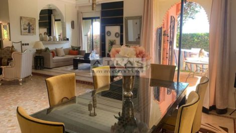 Marrakech: Magnificent four bedroom villa close to the Amelkis Golf