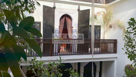 Marrakech : Riad agréé maison d'hôtes, proche Jemaa el Fna et parking