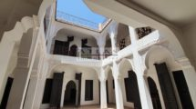 Marrakech : 318 m² authorized Riad guest house to be finalized